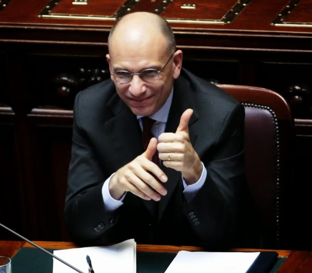 Enrico Letta Twitter: Bona Ugo … Ehm Enrico : MoneyRiskAnalysis